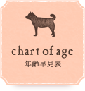chart of age 年齢早見表